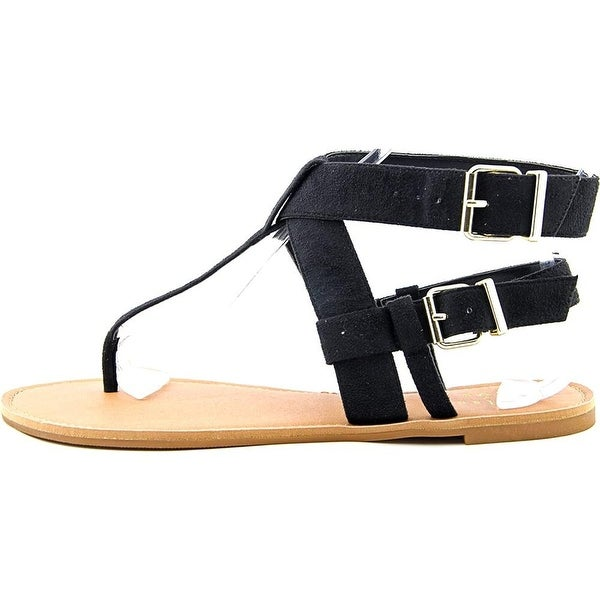 Chelsea & Zoe Womens Faline Open Toe Casual Ankle Strap Sandals