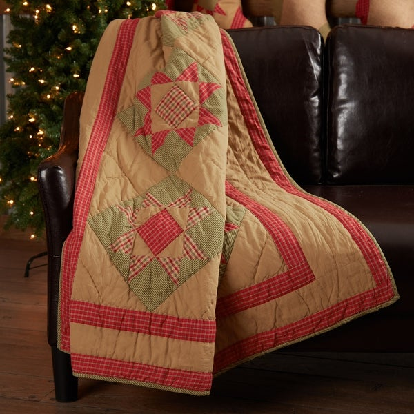 Dolly Star Quilted Throw 60x50. Opens flyout.