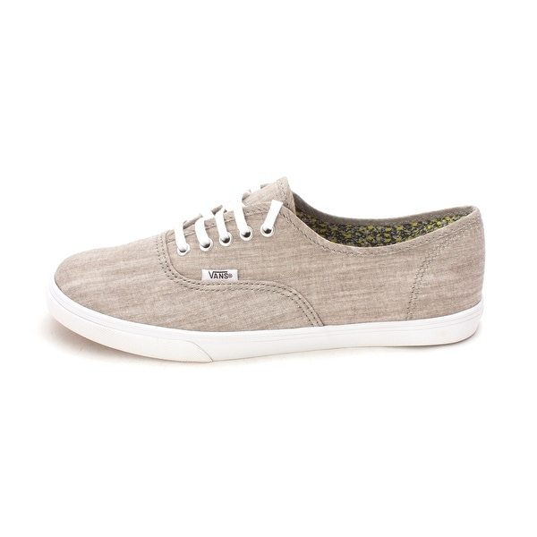 Vans Womens Authentic Lo Pro Canvas Low Top Lace Up Fashion Sneakers
