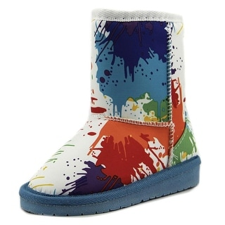 Dawgs Aussie Style Boots Toddler Round Toe Synthetic Multi Color Snow Boot