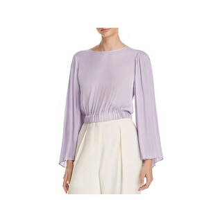 Elizabeth and James Womens Ava Blouse Pleated Keyhole (2 options available)