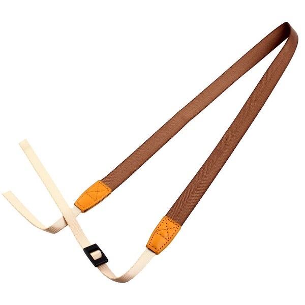 SHETU Authorized Universal Camera Shoulder Neck Belt Strap Brown for DSLR