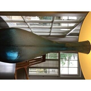 Jasmin Blue Glass 31-inch Table Lamp