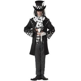 California Costumes Dark Mad Hatter Adult Costume - Black