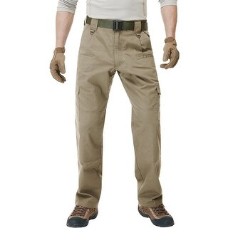 CQR TLP-104 Lightweight Ripstop EDC Tactical Assault Cargo Pants - Khaki