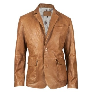Durango Western Jacket Mens Leather Company Sundance Kid Camel DLC0033