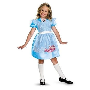 Shop Classic Girls Alice In Wonderland Halloween Costumes Small