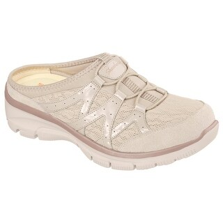 Skechers Women's Easy Going Repute Mule, Taupe