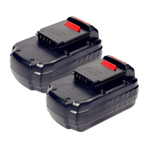 Battery for Porter Cable PC18B (2-Pack) Powertool Battery