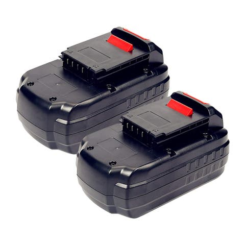 Replacement Battery For Porter Cable PC18B - Fits PCC489N, PC1801D, PC1800D, PC18JR - 2 Pack