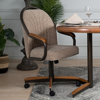 """Link to Casual Dining Barell Swivel and Tilt Rolling Dining Chair - 38""""Hx24""""Wx22""""D Similar Items in Office & Conference Room Chairs"""