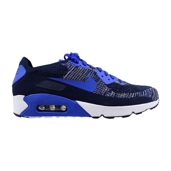 22e38528d98 Nike Air Max 90 Ultra 2.0 Flyknit College Navy Paramount Blue 875943-400  Men