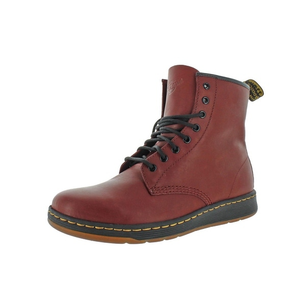 80ea4535aa Shop Dr. Martens Mens Newton Ankle Boots Leather Fashion - Free ...