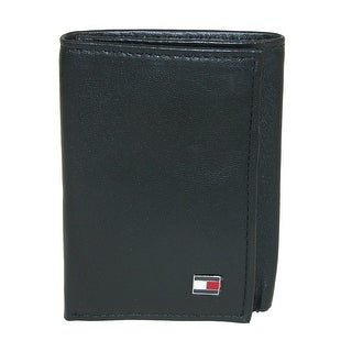 Tommy Hilfiger Men's Leather Oxford Slim Trifold Wallet - One size