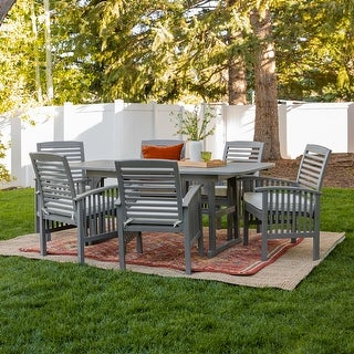 Link to Surfside 7-Piece Acacia Patio Dining Set by Havenside Home Similar Items in Patio Furniture