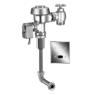 "Sloan Royal 195-1.0 ES-S Concealed, Sensor Operated Royal Model Urinal Flushometer, for 3/4"" back spud urinals. Low Consumption"