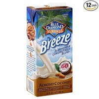 Almond Breeze Almondmilk Blend, Almond Coconut Original, 32 Ounce (Pack of 12)