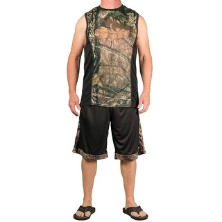 Mossy Oak Men's Performance 2 Pc Short/Tank Set