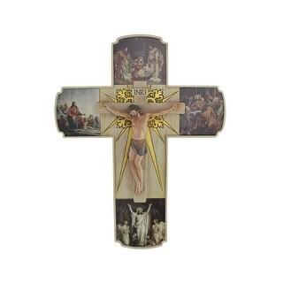 "12"" Joseph's Studio Life of Christ Religious Crucifix Wall Cross - N/A"