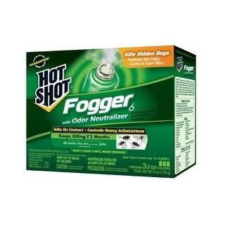 Hot Shot HG-96180 Indoor Fogger, 2 Oz