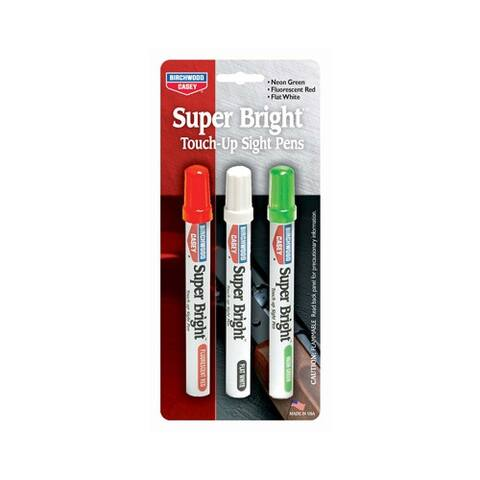 Birchwood casey 15116 b/c super bright pen kit for sights green/red/white