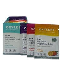 Oxylent 5-in-1 Multivitamin Variety Pack Supplement Drink (Box of 30)