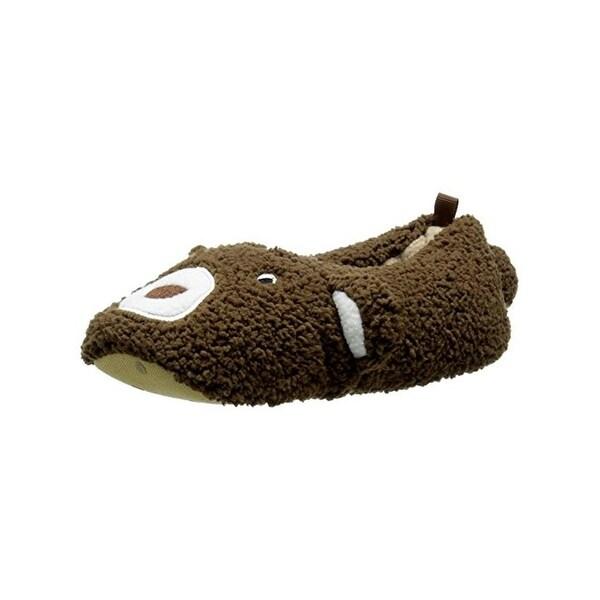 Carters Yoshi Slippers Toddler Plush