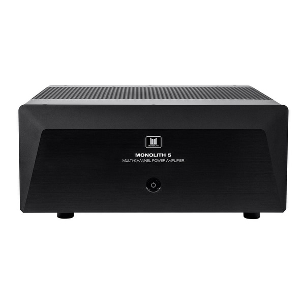 Monoprice Monolith 5x200 Watts Per Channel Multi-Channel Home Theater Power Amplifier with XLR inputs