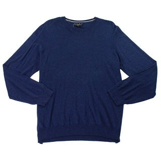 Club Room NEW Navy Blue Men's Size Large L Knitted Crewneck Sweater