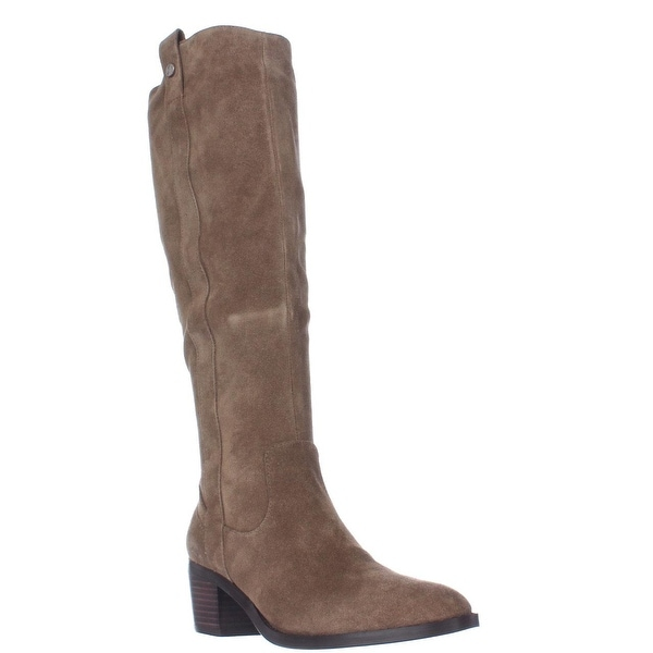 Marc Fisher Kimmee Knee High Boots, Light Brown