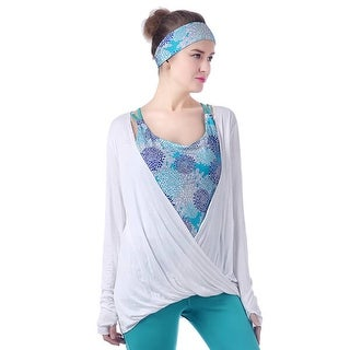 Mad Style White Draping Top