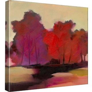 "PTM Images 9-99558  PTM Canvas Collection 12"" x 12"" - ""Dark Forest"" Giclee Forests Art Print on Canvas"
