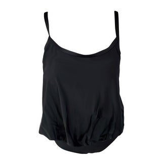 Link to Black Blouson Yoga Brief Tankini Swimsuit Women's Similar Items in Swimwear