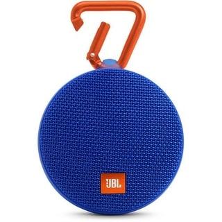 JBL Clip 2 Portable Bluetooth Speaker - Blue