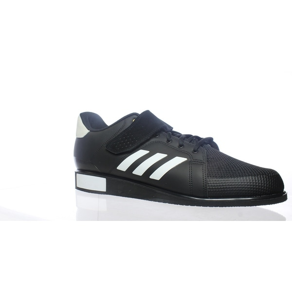 huge selection of 87b02 c8223 Adidas Mens Power Perfect Iii Black Weightlifting Shoes Size 16