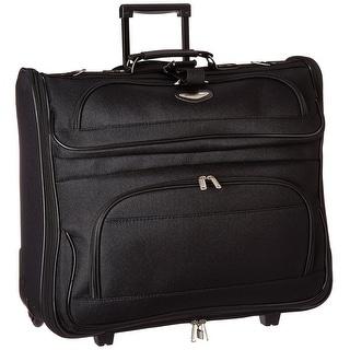 Travel Select Amsterdam Business Rolling Garment Bag, Black