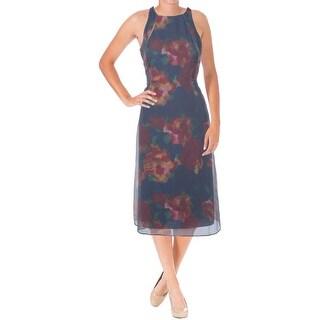 Rachel Rachel Roy Womens Wear to Work Dress Shimmer Striped