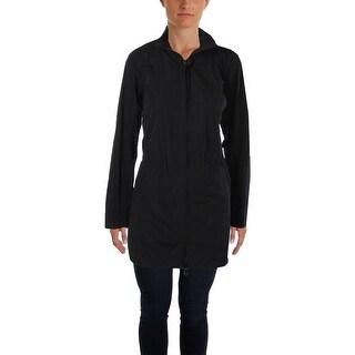 L-RL Lauren Active Womens Basic Jacket Hooded Drawstring - l