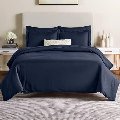 Nestl 5 Piece Duvet Cover Set - Ultra Soft Microfiber Bed Cover