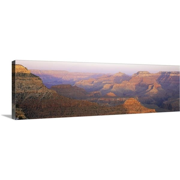 Premium Thick-Wrap Canvas entitled Grand Canyon At Sunset - Multi-color