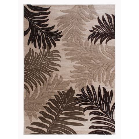 Asja Collection Brown/Beige Area Rug