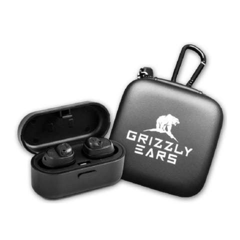 Grizzly Ears Electronic Shooting Earbuds with Bluetooth