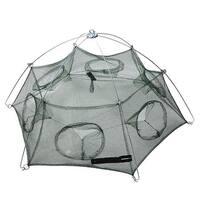 Unique Bargains 39  x 32  Umbrella Crab Bait Cast Lures Dip Fishing Net for Fishermen Shrimp
