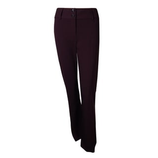 Alfani Women's Curvy Fit Two Button Dress Pants
