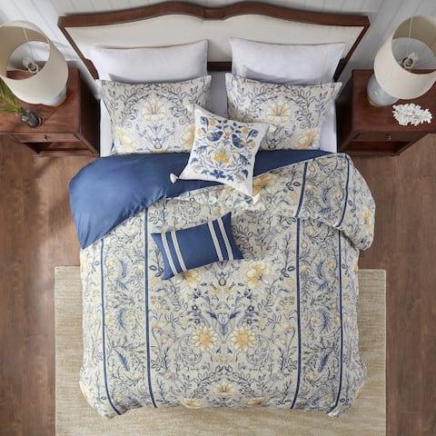 Harbor House Livia 5 Piece Cotton Duvet Cover Set