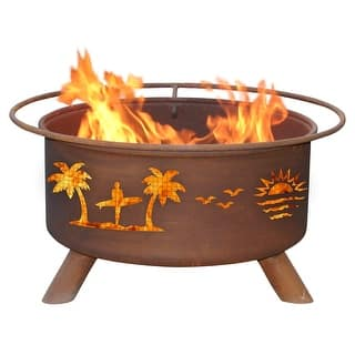 Patina Group F117 Pacific Coast Fire Pit - Bronze|https://ak1.ostkcdn.com/images/products/is/images/direct/13fd00a5f48dfa675afe7cb9b75f6d2e966855fa/Patina-Group-F117-Pacific-Coast-Fire-Pit.jpg?impolicy=medium