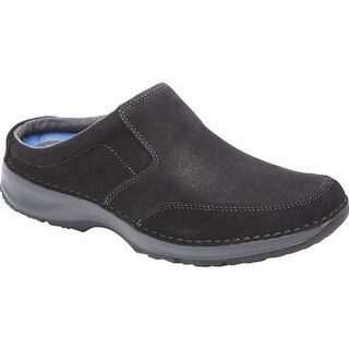 Rockport Men's RocSports Lite Five Clog Black Leather