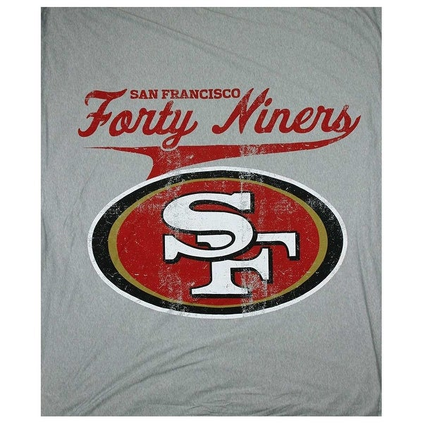 "The Northwest NFL San Francisco 49ers Sweatshirt Throw 50""x60"" Blanket"