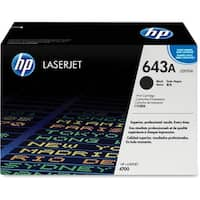 HP 643A Black Original LaserJet Toner Cartridge (Q5950A)(Single Pack)