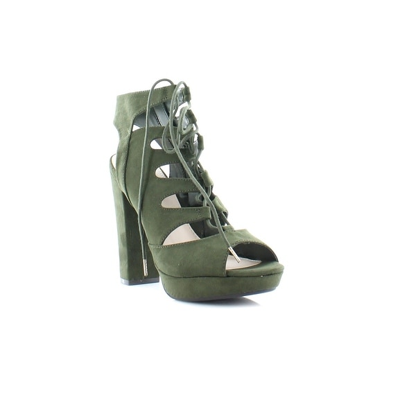 Bar III Nelly Women's Heels Olive